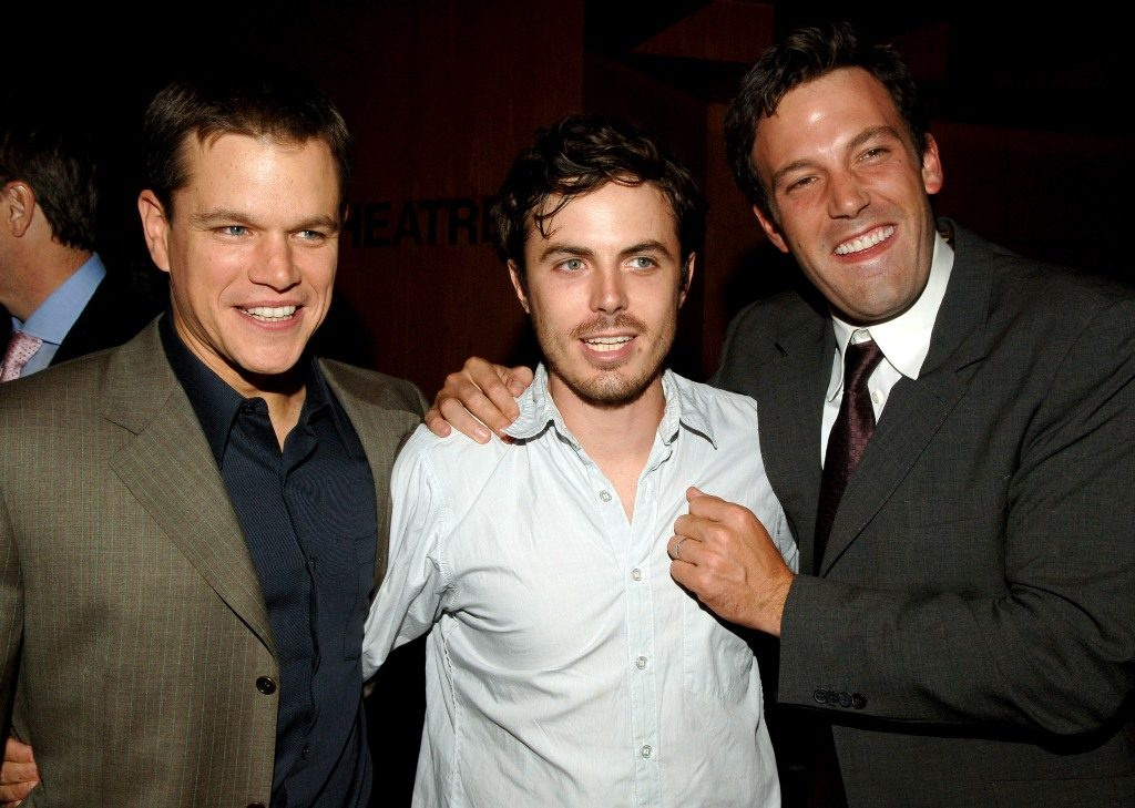 Matt Damon Ben Affleck Casey Affleck