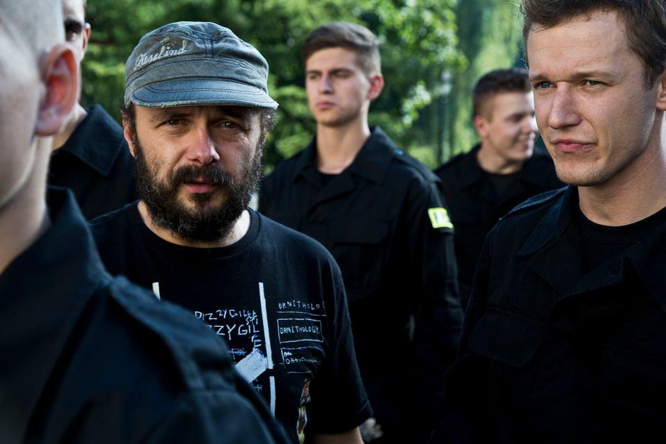 """Zdjęcie z planu filmu """"Prosta historia o morderstwie"""". fot. Krzysztof Wiktor"""