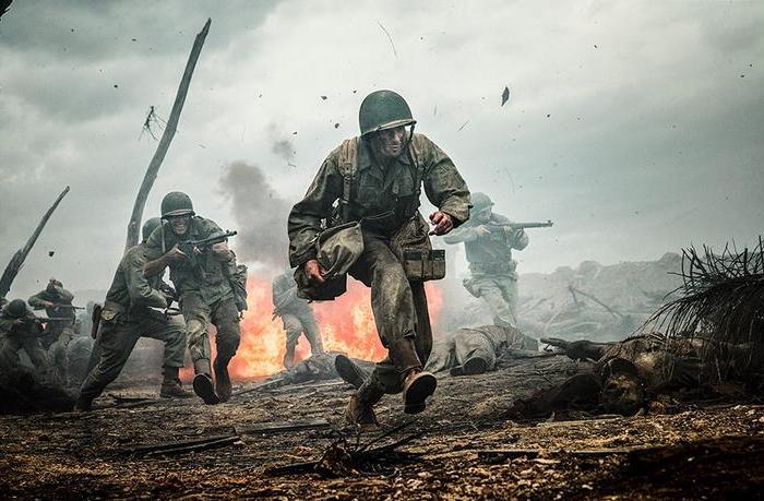 """Kadr z filmu """"Przełęcz ocalonych""""."""